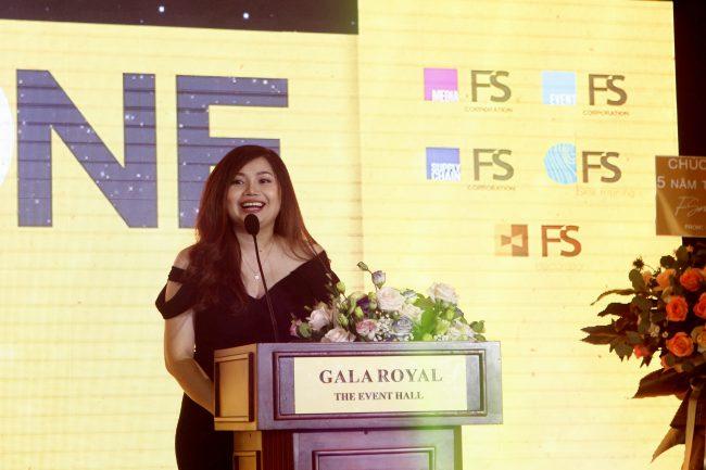 Mỹ Nguyễn – Tổng giám đốc FSmart, phát biểu tại chương trình.