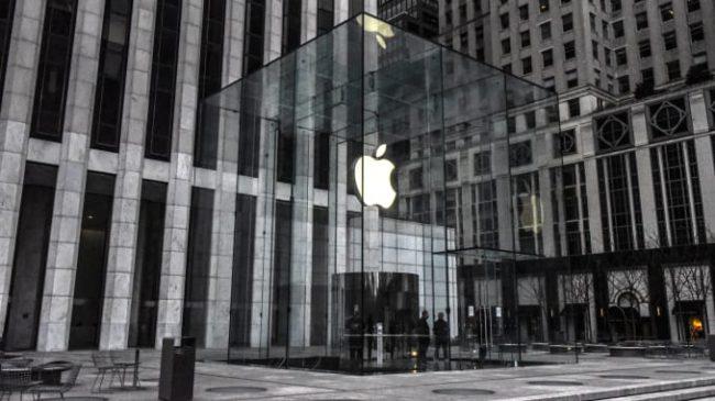 Apple tuyên bố đóng cửa toàn bộ cửa hàng bên ngoài Trung Quốc. Ảnh: CNBC