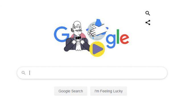 Bác sỹ Ignaz Semmelweis được Google Doodle chọn tôn vinh vào ngày 20/3