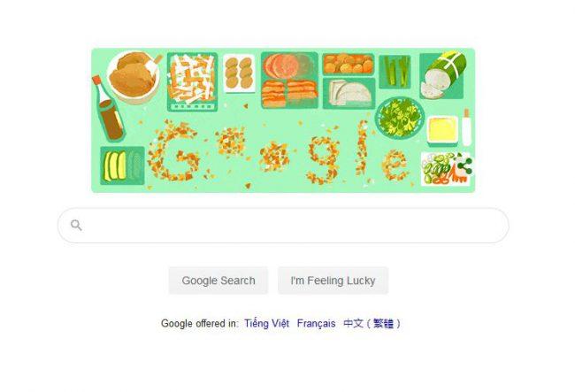 Ngày 24/03, Goole Doodles đã chọn hình ảnh bánh mì để tôn vinh