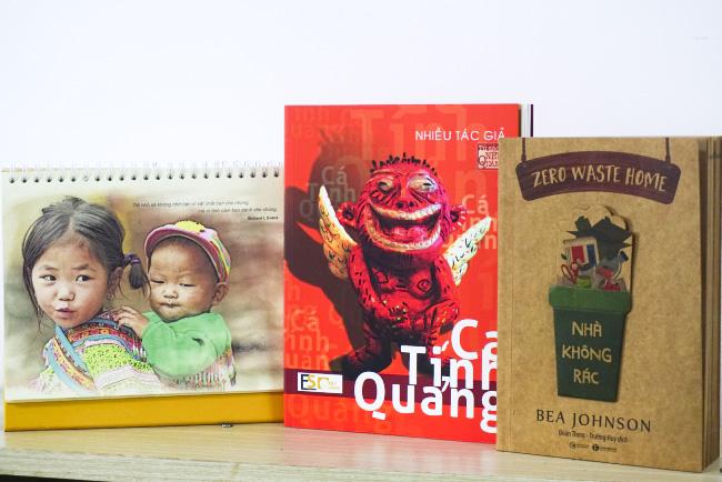 Những đầu sách hay cũng là một lựa chọn quà tặng công ty