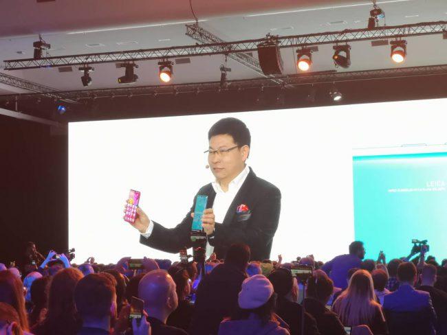 Sự kiện ra mắt sản phẩm mới của Huawei được tổ chức trực tuyến vào đêm 26/3 tại Châu Âu.