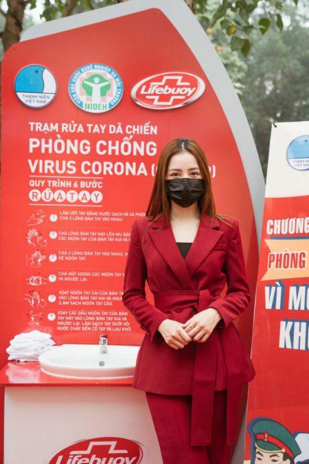 """Lifebuoy đã kết hợp với Chi Pu thực hiện chiến dịch """"Vì một Việt Nam khỏe mạnh"""""""