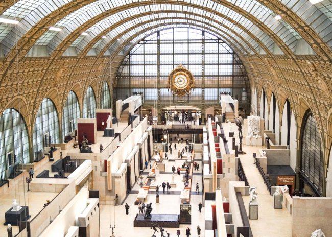 Bảo tàng Orsay là một trong những bào tàng đã được số hóa dữ liệu và có thể truy cập trực tuyến. Ảnh: obonparis.