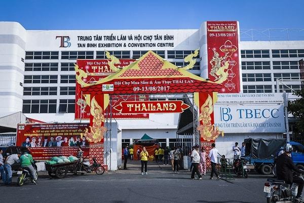 Trung tâm Hội chợ và Triển lãm quận Tân Bình
