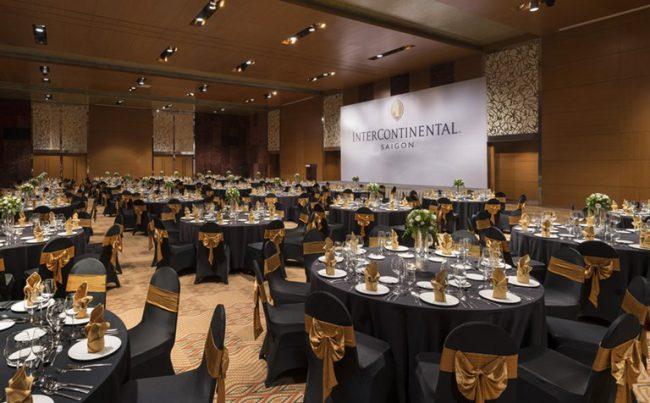 Khách sạn Intercontinental Saigon– Địa điểm tổ chức sự kiện sang trọng ở khu vực trung tâm TP.HCM
