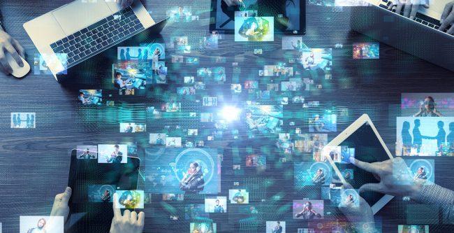 Các hình thức tổ chức sự kiện trực tuyến ngày càng được nhiều doanh nghiệp lựa chọn. Ảnh: northstarmeetingsgroup