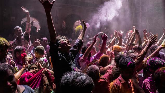 Lễ hội sắc màu Holi tại Ấn Độ. Ảnh: aniel Berehulak/ Getty Images AsiaPac/ Getty Images
