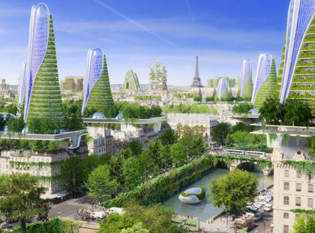 Concept sự kiện lấy ý tưởng từ kiến trúc của tương lai. Ảnh: thedesignhome.