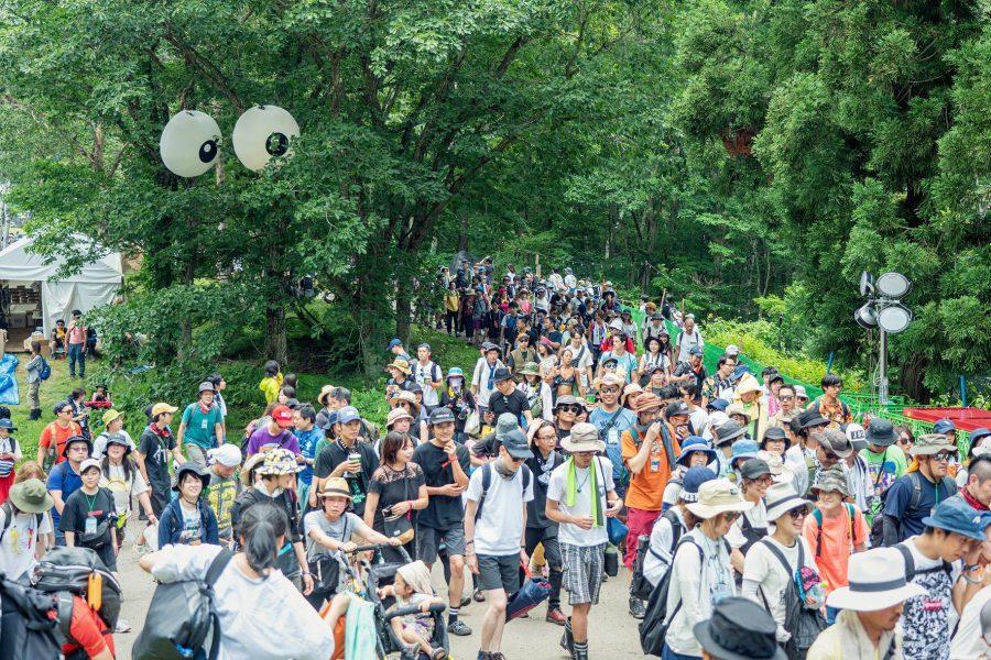 Sự kiện Fuji Rock Festival thu hút đông đảo người hâm mộ âm nhạc tham dự. Ảnh: Fujirockfestival