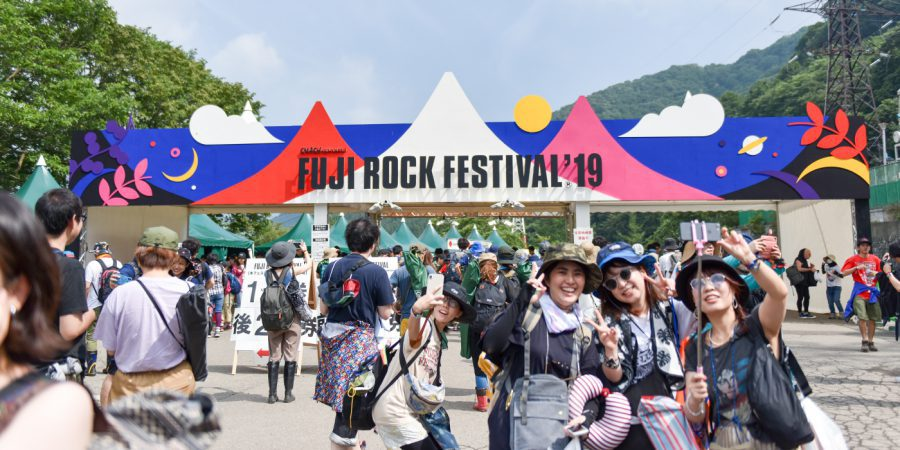 Fuji Rock Festival 2019. Ảnh: Fujirockfestival