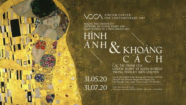 Thưởng thức các tuyệt tác của Gustav Klimt và Egon Schiele ngay tại Việt Nam