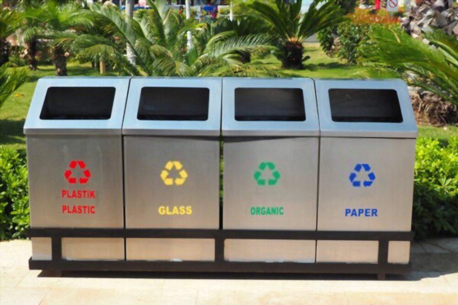 Đặt thùng rác với hướng dẫn phân loại cụ thể giúp nâng cao nhận thức công đồng và giảm thiểu rác thải thực phẩm trong sự kiện. Ảnh: shutterstock.