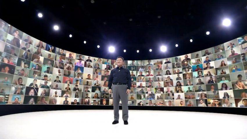 Sự kiện ra mắt trực tuyến Unpacked 2020 của Samsung được tổ chức vào đầu tháng 8.