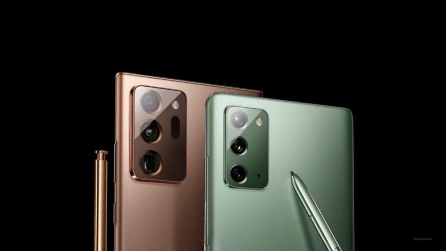 Lần thứ hai có nhiều hơn một mẫu Galaxy Note cùng lúc được ra mắt tại Unpacked.