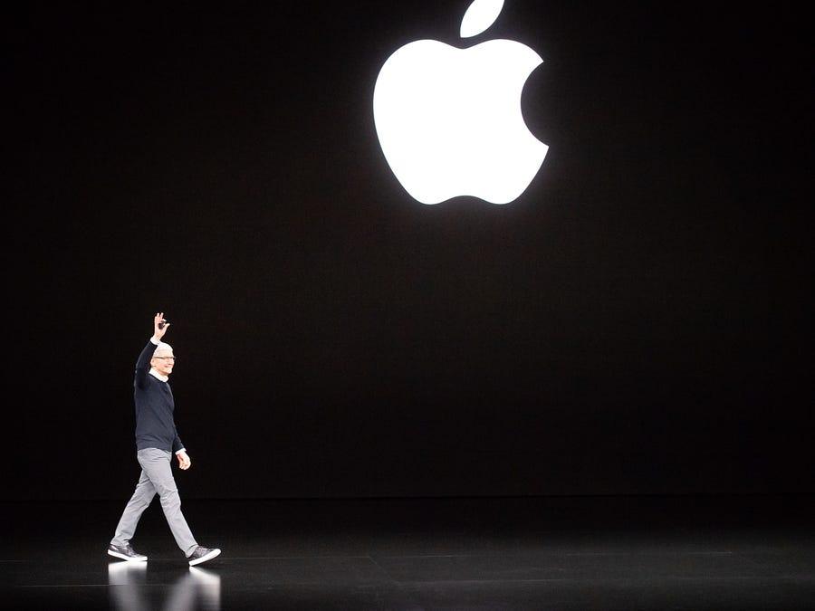 Sự kiện ra mắt Iphone 12 của Apple năm nay có thể trễ hơn so với mọi năm. Ảnh: Noah Berger/AFP/Getty Images.
