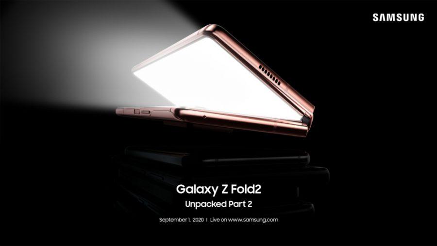 Galaxy Z Fold 2 chính thức ra mắt trong sự kiện Unpacked Part 2 vào ngày 1/9 sắp tới