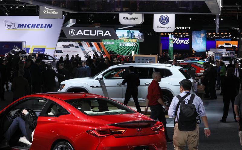 Triển lãm Detroit Auto Show sẽ được tổ chức trở lại vào tháng 9/2021. Ảnh: Jonathan Ernst/ Reuters.