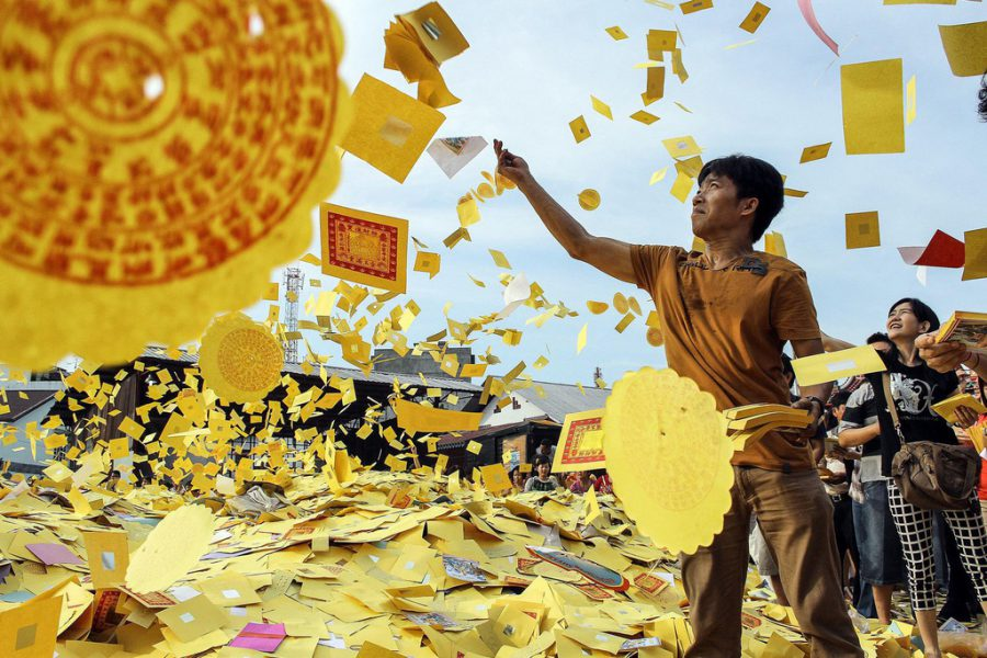Những lễ hội kỳ lạ trong rằm tháng 7 ở các quốc gia châu Á. Ảnh 5.