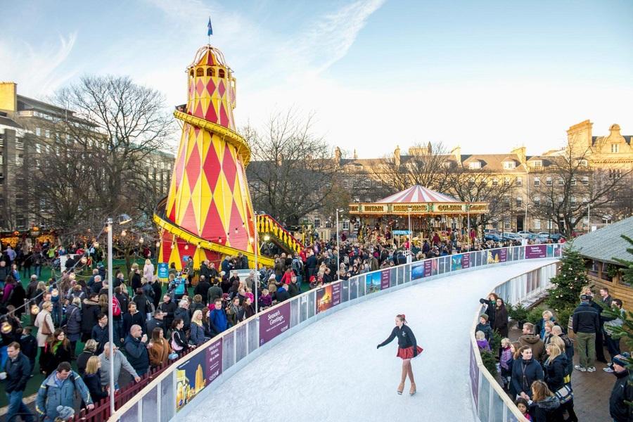 Lễ hội Giáng sinh Edinburgh bị hủy do COVID-19