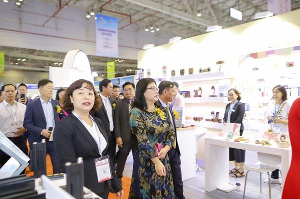 Hội chợ Vietnam Expo lần thứ 18. Ảnh 2.