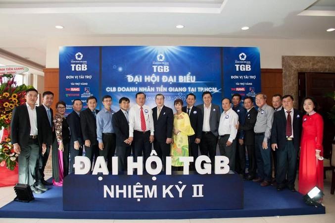 Đại hội đại biểu CLB Doanh nhân Tiền Giang nhiệm kỳ II. Ảnh 1.