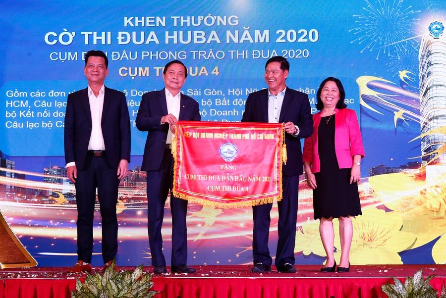Hội nghị tổng kết năm 2020 và triển khai phương hướng, nhiệm vụ năm 2021 của Hiệp hội Doanh nghiệp TP.HCM. Ảnh 4
