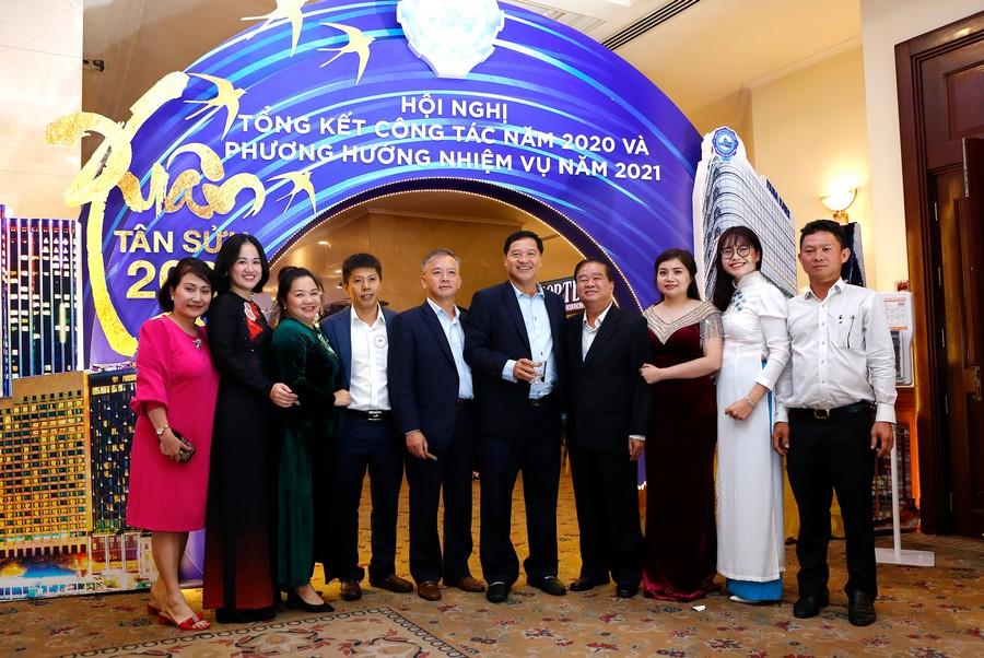 Hội nghị tổng kết năm 2020 và triển khai phương hướng, nhiệm vụ năm 2021 của Hiệp hội Doanh nghiệp TP.HCM. Ảnh 7