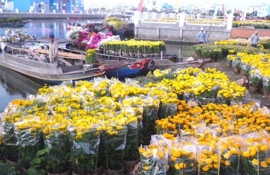 Điểm danh hội hoa xuân, chợ hoa Tết Tân Sửu 2021 tại TP.HCM. Ảnh 1.