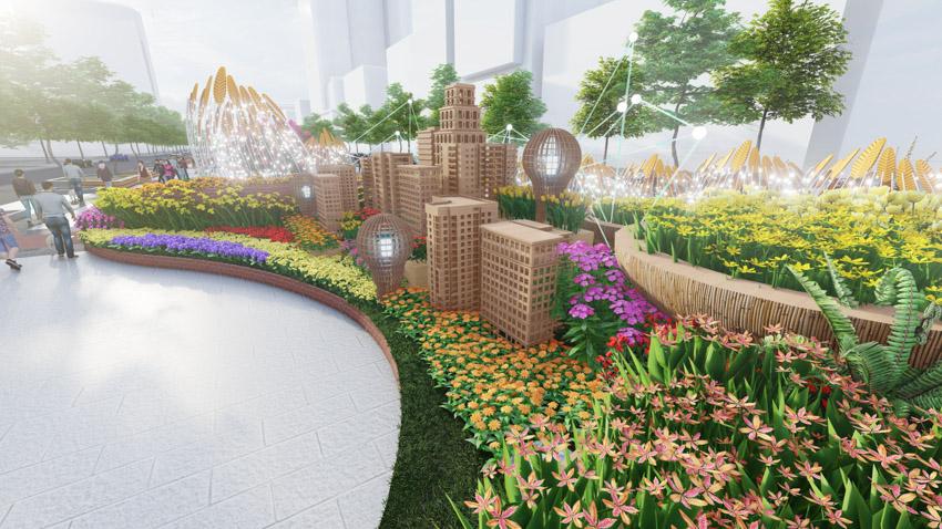 Đường hoa Nguyễn Huệ Tết Tân Sửu 2021: Hội tụ bản sắc, hướng tới tương lai. Ảnh 11.
