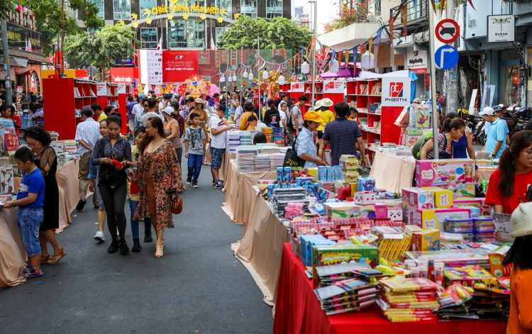Lễ hội đường sách Tết Tân Sửu gia nhập đường đua lễ hội Tết tại TP.HCM. Ảnh 2.